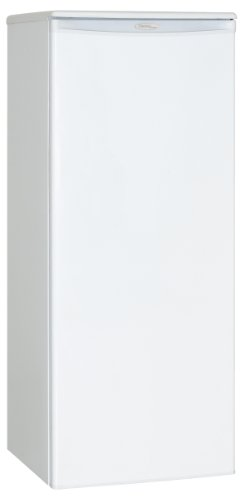 Frost Thermostat - Danby DUFM085A2WDD1 Upright Freezer, 8.5 Cubic Feet, White