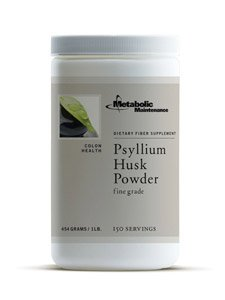 Metabolic Maintenance Psyllium Husk Powder [150svg] 454g / 1 lb. by Metabolic Maintenance