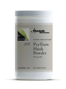 Metabolic Maintenance Psyllium Husk Powder [150svg] 454g / 1 lb.