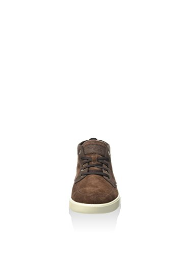 Timberland Bayham Leather Chukk Potting Soil, Botines para Hombre, Marrón, 41 EU
