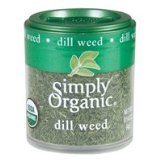 Simply Organic Mini Organic Dill Weed (2x.14 OZ) by Simply Organic