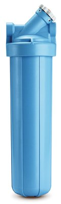 OMNIFilter BF55-S-S06 Heavy Duty 20'' Water Filter Housing, Cartridge Sold Separately, Blue by OMNIFilter