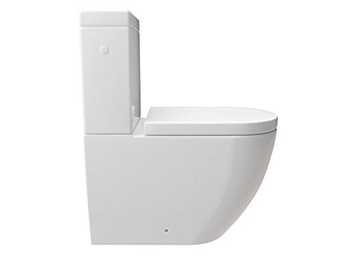 Bekannt KERABAD Stand-WC Kombination mit Spülkasten WC-Sitz aus Duroplast EA33
