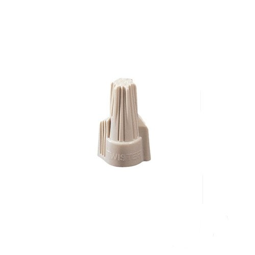 (Ideal 30-341, Twister 341 Wire Connector, Tan, Pack of 1000 pcs )