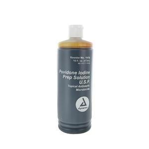 Alimed Povidone Iodine Prep Solution 16 Oz, (Case of 24 Each)