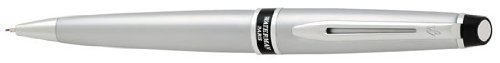 Waterman Expert Brushed Chrome .5mm Pencil - 75260 by Waterman (Image #1)