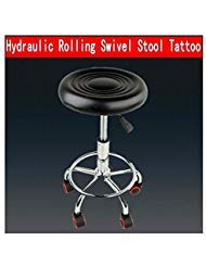 Adjustable Swivel Salon Stool Hydraulic PU Barber Rolling Massage Tattoo Chair from Unknown