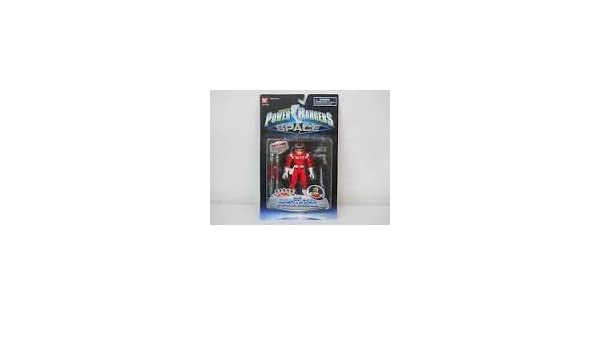 Amazon.com: Sabans Power Rangers in Space Lightstar Red/Vermelho: Toys & Games