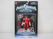 Sabans Power Rangers in Space Lightstar Red/Vermelho