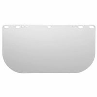 Jackson Safety F20 Clear Polycarbonate Unbound Face Shield, 15-1/2 Length x 8'' Width x 0.060'' Thick (Pack of 36)''
