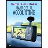 Managerial Accounting, J.K, 0324809670