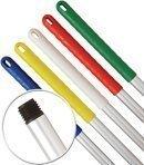 Aluminium Metal Hygiene Handle 125cm Long c/w Colour Coded Yellow Grip 1 Handle Robert Scott YYA