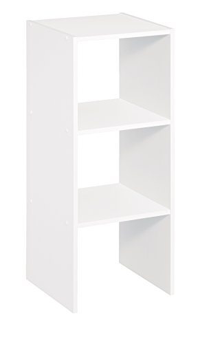 ClosetMaid 8953 Stackable 31-inch Vertical Organizer, White (Closetmaid Cubbies)