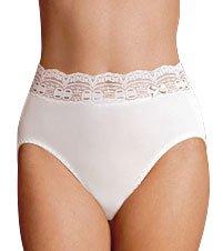 UPC 029442075667, Olga Women's Secret Hug Nylon Scoops French Brief Panty, Pale Blush, Size 5