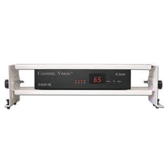 Channel Vision Digital Modulator - Channel Vision C-0354 (E4200IR) 4-Input Panel Mounted Digital Modulator with Built-in IR Engine and LED Channel Display