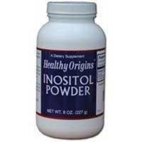 HEALTHY ORIGINS INOSITOL POWDER, 8 OZ by Healthy Origins