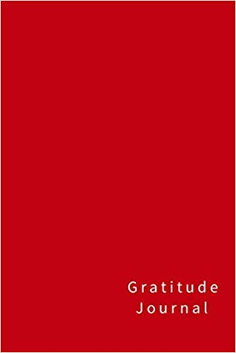 gratitude journal 110 pages and softcoverorange