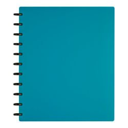 TUL Custom Note-Taking System Discbound Notebook, Letter Size, Poly Cover, Teal