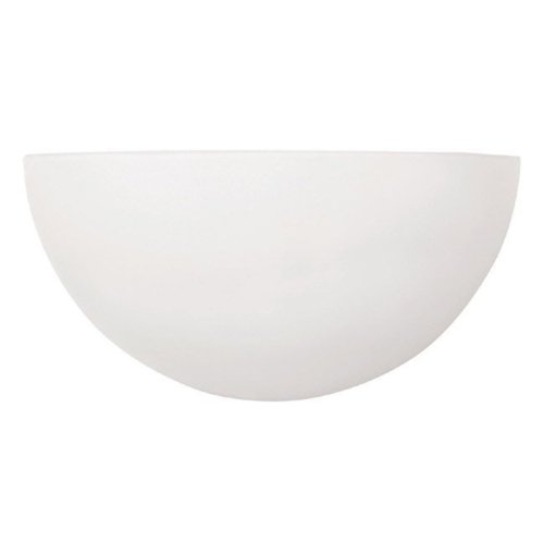 Capital Lighting 1680MW 1-Light Wall Sconce, Matte White Finish with Opal Glass