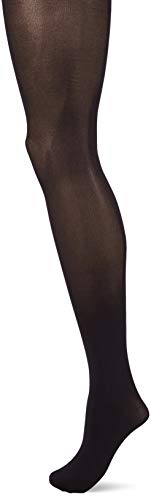 HUE Women's High Waist Tights with Control Top, Black, 2