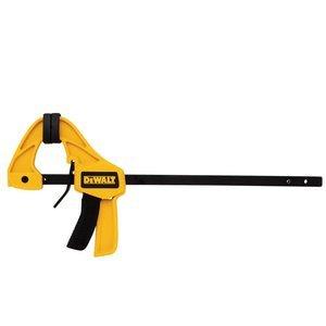 (DEWALT DWHT83149 Medium Trigger Clamp with 6 inch Bar, 2pk)