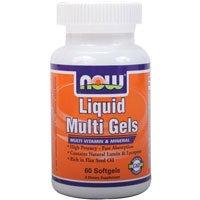 NOW Foods - Liquid Multi Gels 60 Softgels Foods Liquid Multi Gels