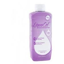 LiquaCel Liquid Protein Plus Added Arginine Grape Bottles 6 X 32oz Case by Global Health Products