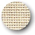 """Zweigart 10ct Tula-18x27"""" Needlework Fabric - Cream"""
