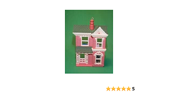 2-story Old-Fashioned Toy Shoppe w Box Decoration in Top Condition Hallmark 1985 Keepsake Collection Dollhouse Ornament