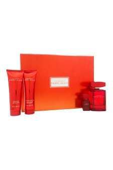 Ginger Mandarin After Shave - Perry Ellis Spirited for Men 4 Piece Set