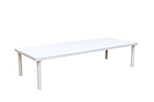 フリーローテーブル150×60cmホワイト(TZ-1560WH) B005LT0JJC