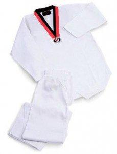 ホワイトテコンドーPoom Vネック7オンスの制服、1 B0015ZUO3W B0015ZUO3W, コッコファームたまご庵:c4469fcf --- capela.dominiotemporario.com