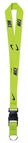 Nike Lanyard (Volt/Black)