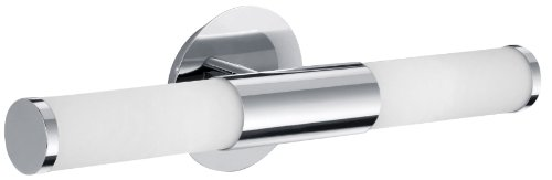 Eglo 87219A Palermo Wall Light, Chrome - Reflects Chrome Table Lamp