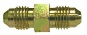 Midland 2403-6-4 Straights Steel Flare 37degree Tube Union 9//16-18 JIC Thread x 7//16-20 JIC Thread