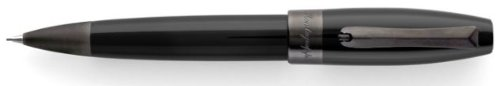 Montegrappa Fortuna Black Resin Gun Metal Trim Pencil - ISFORQLC