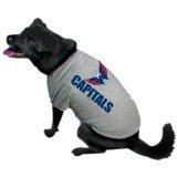 Hunter Mfg. LLP NHL Washington Capitals Pet T-Shirt, Small, Team -