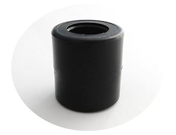 Zabi F/ührungsrolle Nylon Kunststoff-F/ührungsrollen f/ür Schiebetore /Ø 33mm mit Montageschraube