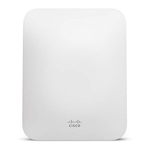 Meraki MR18 Dual-Band Cloud-Managed Wireless Network Access Point - 2x2 MIMO 802.11n, 600Mbps, Enterprise Class, 802.3af PoE, Requires Cloud License
