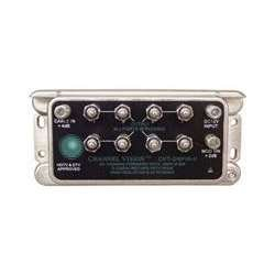 CHANNEL VISION CVT-2/8PIAII 8-WAY Rf Amplified Splitter by Channel Vision