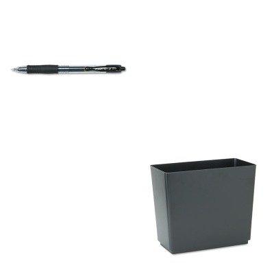 KITPIL31020RCP25051 - Value Kit - Rubbermaid Designer 2 Wastebasket (RCP25051) and Pilot G2 Gel Ink Pen (PIL31020)