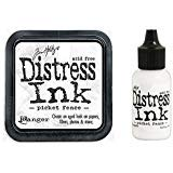Tim Holtz Ranger Distress - Picket Fence Ink Pad and Re-inker ()