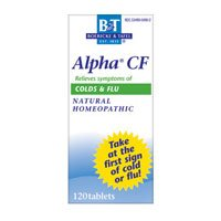 Boericke and Tafel Alpha CF - 120 Tablets pack of -2