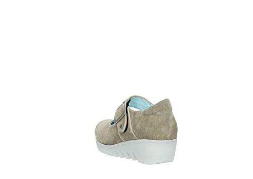 Mary nbsp;soyeux Suede 425 Janes Sand 3811 Wolky FCvdqxTT