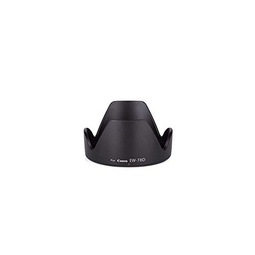 - Sun Hood Zoom Lens Cap Sunshade Protecting For Canon EW-78D 18-200 72mm black