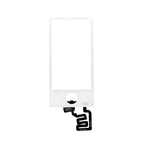 (Touch Screen Glass Digitizer for iPod Nano 7 7th Gen(Not Include LCD)(White))