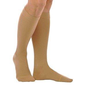 Anti Embolism Knee High 18mm Closed Toe Beige (Extra Large)