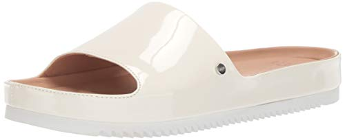 UGG Women's Jane Patent Flat Sandal, Jasmine, 7 M US