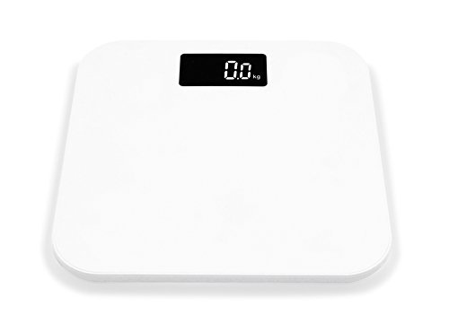 LUOYIMAN Bathroom Scale Digital Body Weight Scale Plastic Non Slip