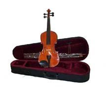 Crystalcello MA200 Full Size 16 inch Viola with Carrying Case + Bow + Accessories by Crystalcello